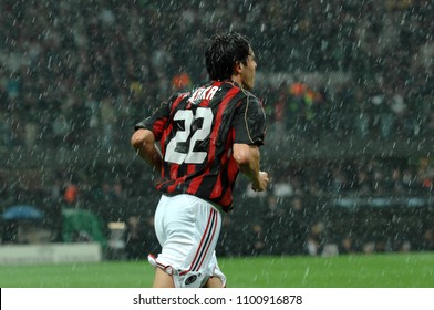 "Milan  Italy , 02 May 2007, ""SAN SIRO "" Stadium,  UEFA Champions League 2006/2007, AC Milan - FC Manchester United: Kaka during the match"