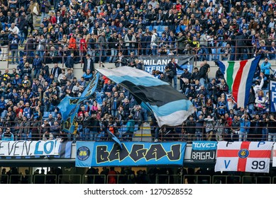 Milan, Italy, 03 November 2018. Campionato Italiano SerieA. Inter vs Genoa 5-0. Supporters Inter.