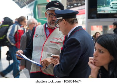 Train Ticket Checker Images, Stock Photos & Vectors