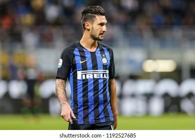 Milan, Italy. 25-09-2018. Campionato Italiano Serie A. Inter vs Fiorentina 2-1. Matteo Politano, Inter.
