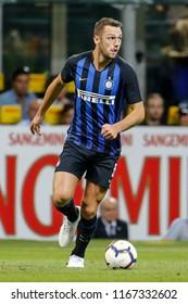 Milan, Italy. 26 August 2018. Campionato Italiano di SerieA, Inter vs Torino 2-2. Stefan de Vrij, Inter.