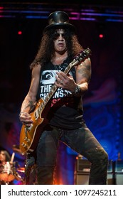 Milan  Italy  28 July 2011,Live concert of Slash at the Arena Civica : Slash during the concert
