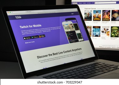 Imágenes, fotos de stock y vectores sobre Twitch Logo