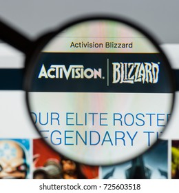 Milan, Italy - August 10, 2017: Activision Blizzard