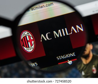 Milan, Italy - August 10, 2017: AC Milan