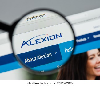 Milan, Italy - August 10, 2017: Alexion Pharmaceuticals