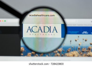 Milan, Italy - August 10, 2017: Acadia Healthcare