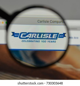 Milan, Italy - August 10, 2017: Carlisle