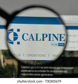 Milan, Italy - August 10, 2017: Calpine