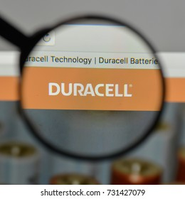 Milan, Italy - August 10, 2017: Duracell