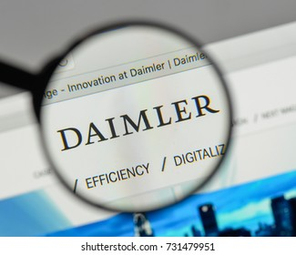 Milan, Italy - August 10, 2017: Daimler