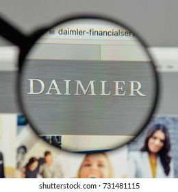 Milan, Italy - August 10, 2017: Daimler, Financial, Services
