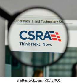 Milan, Italy - August 10, 2017: CSRA