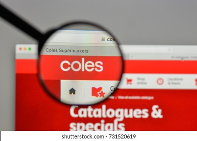 Milan, Italy - August 10, 2017: Coles