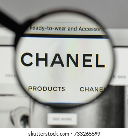 Milan, Italy - August 10, 2017: Chanel
