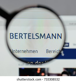 Milan, Italy - August 10, 2017: Bertelsmann
