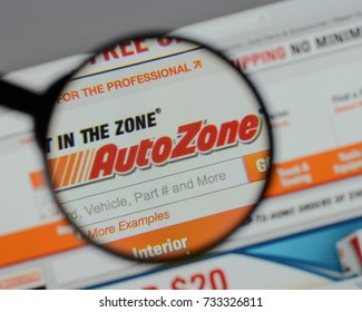 Milan, Italy - August 10, 2017: AutoZone