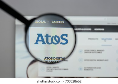 Milan, Italy - August 10, 2017: Atos