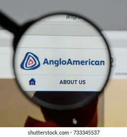 Milan, Italy - August 10, 2017: Anglo American