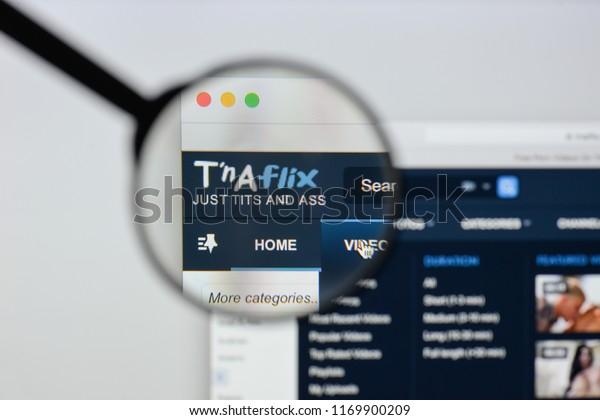 Milan Italy August 20 2018 Tnaflix Stock Photo (Edit Now