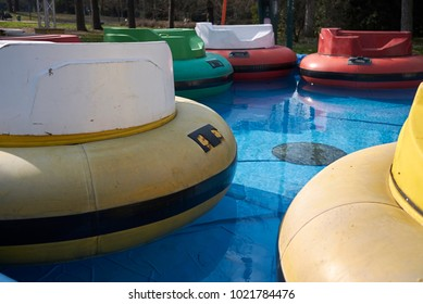 Milan, Italy - February 09, 2017 : Amusement park in Milan