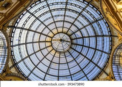 MILAN, ITALY - March 18, 2016: Galleria Vittorio Emanuele II in central Milan on November 16, 2015 in Milano, Italy