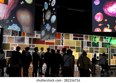 MILAN, ITALY - May 11: Zero pavilion at Expo, universal exposition on the theme of food on  May 11, 2015 in Milan, Italy.