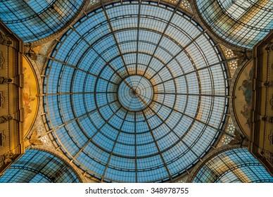 MILAN, ITALY - MAY 22, 2010: Galleria Vittorio Emanuele II
