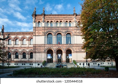 MILAN, ITALY - NOV 12: The Museo Civico di Storia Naturale di Milano, Milan Natural History Museum, in Milan on November 12, 2010. The museum was founded in 1838 .