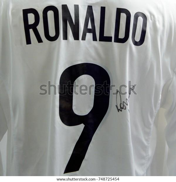 the latest 43980 5df28 Milan Italy Nov 3 2017 Ronaldo Stock Photo (Edit Now) 748725454
