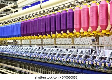 Milan, Italy - november 14, 2015: Textile fair in Milan