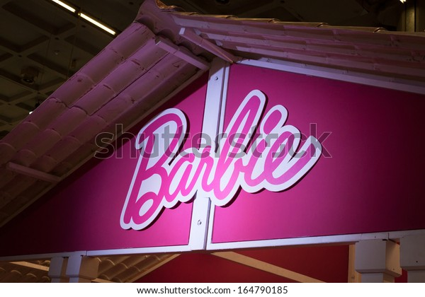 MILAN, ITALY - NOVEMBER 22: Detail of Barbie's house at G! come giocare, trade fair dedicated to games, toys and children on NOVEMBER 22, 2013 in Milan.