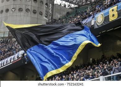 Milan, Italy. November  5, 2017. Campionato Italiano di SerieA, Inter vs Torino 1-1. Supporters Inter fc.
