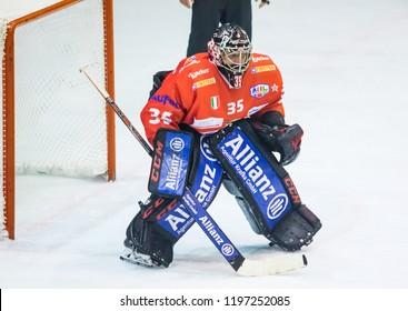 Cartoon Ice Hockey Goalie Stock Photos Images Photography