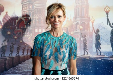 """MILAN, ITALY - OCTOBER 16: Justine Mattera attends the premiere of the movie """"Lo Schiaccianoci"""" at Clerici building on October 16, 2018 in Milan, Italy."""