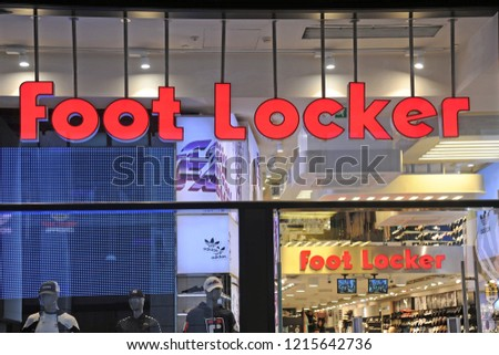 13787cee4b Milan Italy October 292018 Foot Locker Stock Photo (Edit Now ...