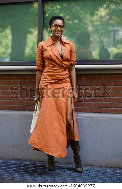 Tamu Mcpherson Blog.Milan Italy September 20 2018 Famous Stock Photo Edit Now