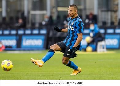 Milan, Italy, Stadium Giuseppe Meazza. 22 November 2020. Italian Serie A Football Championship. Inter VS Torino 4-2. Alexis Sanchez, Inter.