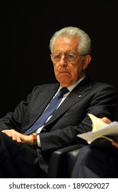 "MILAN, ITALY - STEPTEMBER 27: Mario Monti in Meeting organized by Bocconi University on Luigi Spaventa His life, his passions, his lectures "", Sept 27, 2013 in Milan, Italy."