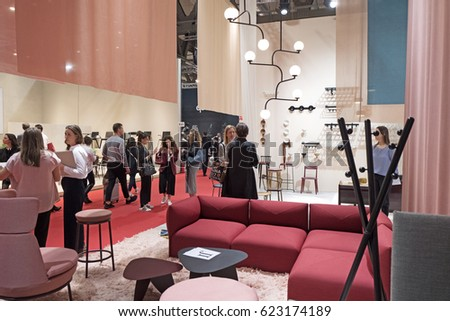 milan italyapril 07 2017 interior furniture stock photo (edit now07 2017 #11