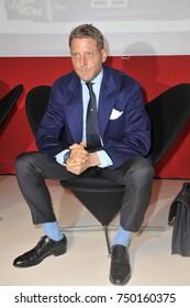 Milan - Lapo Elkann posed