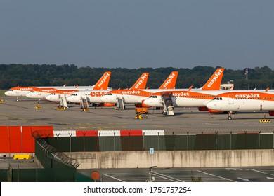 Milan Malpensa Airport (Lombardia, Italy) - May 2020 -