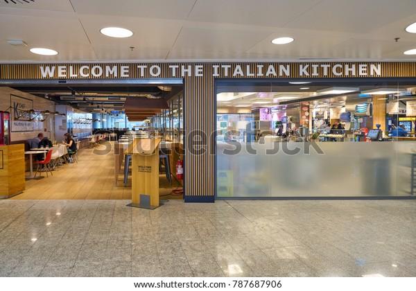 Milan Malpensa Italy Circa November 2017 Interiors Stock Image 787687906