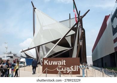 Milan - May 6, 2015 - Milan Expo 2015, Kuwait pavilion