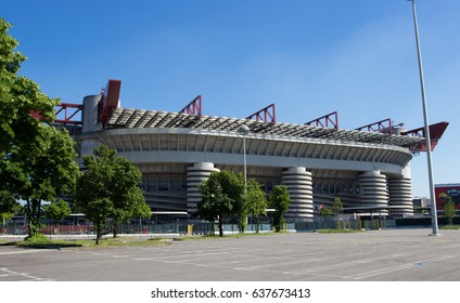 MILAN (MI) 05.05.2017 - san siro soccer stadium