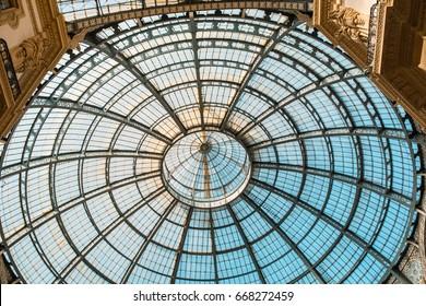 Milan roof glass