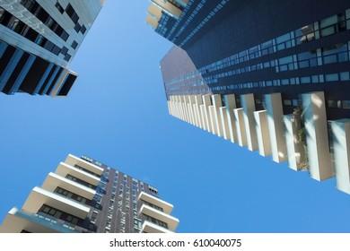 milan skyscraper from below