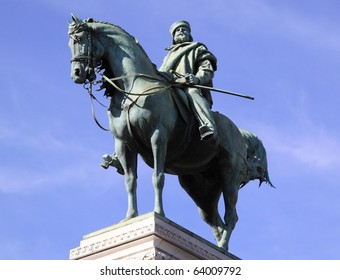 Milan Statue of Garibaldi