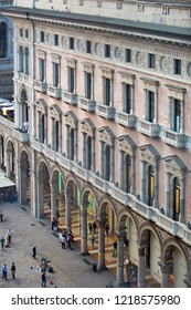 MILAN,ITALY-11 OCTOBER,2018: Galleria di Milano in center of the city