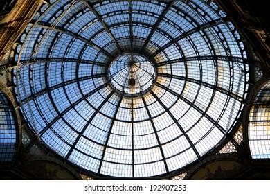 MILAN,ITALY-DECEMBER 5: Vittorio Emanuele gallery on December 5, 2013 in Milan Italy